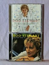 Rod Stewart CD Lot of 2 (The Very Best Of Rod Stewart and Merry Christmas, Baby)