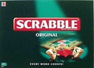 Mattel Scrabble Complete Board Game