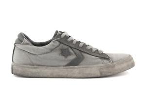 158460C CONVERSE PRO LEATHER VULC OX CANVAS LTD GRIGIO Scarpe Uomo Sneakers