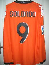 Maillot de foot Valencia valence camiseta shirt Soldado player issue neuf XL!