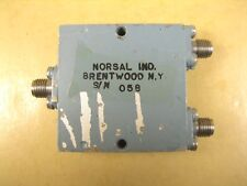 Norsal  8521  Power Divider  1-2GHz  SMA Female Connection