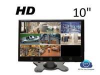 MONITOR PER VIDEOSORVEGLIANZA LCD 10.1 POLLICI AUTO PULSANTI TOUCH 2 INGRESSI AV