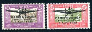 NOUVELLE CALEDONIE 1932 Yvert PA 1-2 * TADELLOS geprüft 1300€(S5438