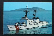 Us Estados Unidos marine ak uscgc Rush whec - 723 Coast Guard ship barco 1970-90er (a)