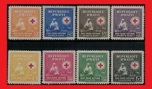 ZAYIX - 1945 Haiti C25-32 MNH - Red Cross