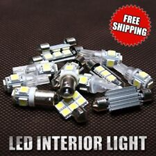 10x Xenon White LED SMD Lights Interior Kit For 2000-2006 Chevy Tahoe 1 Yr Wty