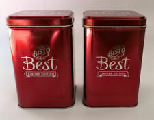 More details for 2 limited edition collectable best bisto gravy tins 250g empty retro