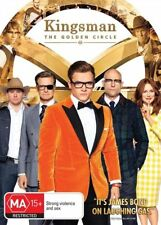 The Kingsman - Golden Circle (DVD, 2017)