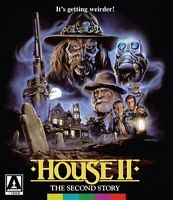 HOUSE II 2 THE SECOND STORY New Sealed Blu-ray Limited Edition Arrow Video