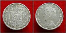Netherlands - 1 Gulden 1917 Zeer Fraai