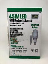 Light Efficient Design LED-8084M57 45W LED Post Top w/ External Driver