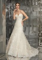 Mori Lee 8178 Size 16 BRAND NEW GENUINE Wedding Dress Ivory With tags