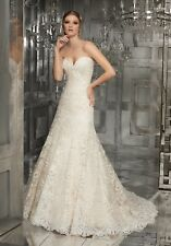 Mori Lee 8178 Size 8 GENUINE Wedding Dress Ivory With tags