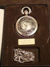 Reloj de bolsillo en acero plateado (Pocket watch)