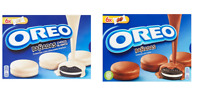 OREO MELTED IN WHITE BLACK CHOCOLATE - 246G - SWEET CREAM COOKIE COCOA - POLAND
