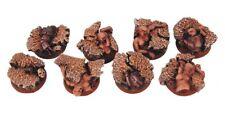 Scribor Miniatures: SF Shambles 25 mm round bases (5) - SMM-BRSH0001