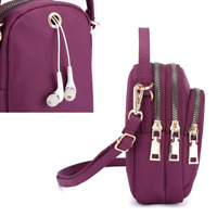 Waterproof Mini Shoulder Bag Nylon Oxford Purse Phone Bag Handbag Messenger Bag