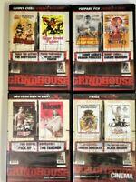 lot of 4 dvds 8 films CHIBA Grindhouse Exploitation MA BLACK DRAGON BCI Eclipse