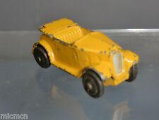 """Vintage DINKY TOYS modèle No.35d Austin 7 Ouvrir Tourer (jaune version) """"RARE"""""""