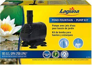 LAGUNA POND FOUNTAIN PUMP KIT 700 LPH GARDEN GOLDFISH FISH KOI