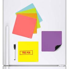 Magnetische Whiteboards Kühlschrank kleben trocken abwischbarer Planer 6 Stück