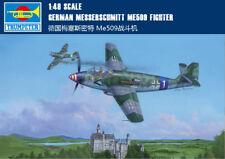 GERMAN MESSERSCHMITT ME509 FIGHTER 1/48 aircraft Trumpeter model plane kit 02849