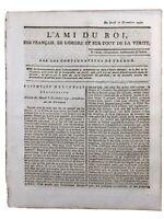 Corse 1791 Comte de Cardo Saulx les Chartreux Essonne Royaume de Corse Haïti