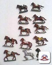 Vintage Lot of 12 Horses Miniatures............(C19B1)
