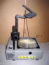 Used Da-Lite 5000 Portable Overhead Projector, cover, professional hi-output w/w
