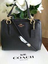 New Coach Minetta Crossbody F57847 Handbag Crossgrain Leather NWT
