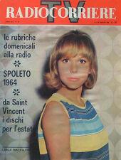 RADIOCORRIERE TV ANNO XLI N. 25, 14-20 GIUGNO 1964