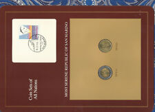 Coin Sets of All Nations San Marino UNC 500 & 200 Lire 1992