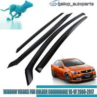 Weather Shields for Holden Commodore VE VF Sedan Rain Sun Vent Window Visor