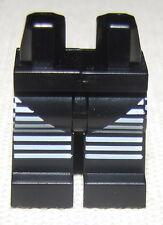 LEGO NEW MINIFIGURE SPOOKY HALLOWEEN BLACK LEGS WHITE STRIPES PANTS