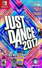 Just Dance 2017 Video Game for Nintendo Switch Brand New Factory Sealed