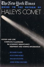 NEW YORK TIMES GUIDE TO THE RETURN OF HALLEY'S COMET Astronomy 1985 Paperback