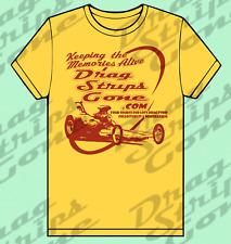 Official DragStripsGone Drag Strip Drag Race Racing - Shirt - 2XL