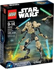 LEGO 75112 GENERAL GRIEVOUS STAR WARS NEW IN SEALED BOX! FAST SHIPPING! RETIRED!