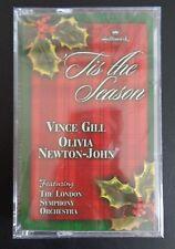 TIS THE SEASON Hallmard NEW Chrismas Cassette VINCE GILL OLIVIA NEWTON JOHN