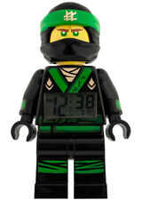 Lego Ninjago Lloyd Digitaler Kinderwecker Uhr LCD Movie Grüner Ninja Figur NEU