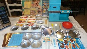 Vintage Easy Bake Oven with Accessories 1964 Kenner WORKS