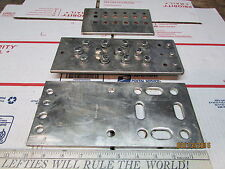 "Lot of 3- 1/4"" Solid Copper Bussbar Equipment Ground/Tower/Workbench/Transmitter"