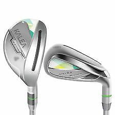 NEW Taylormade Kalea Iron Set 6H, 7H & 8-Pw, Sw Ladies Flex LEFT Handed
