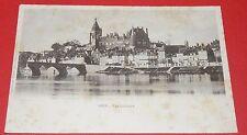 CPA CARTE POSTALE 1910-1920 GIEN LOIRET 45 CHATEAU PONT RIVIERE QUAI FRANCE