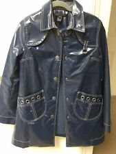 Marc Jacobs Vinilo PVC/Blue Raincoat M