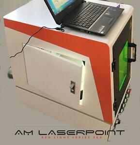 Markier-Gravur Laser Faser/Fiberlaser Firefly 50W• Box• Laptop• LK 1