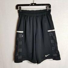 Nike Mens Dri-Fit Black White Activewear Casual Basketball Shorts Sz Small TP827
