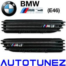 Carbon Fiber Side Fender Air Vent BMW M3 E46 3 Series Beemer Car Sports Car