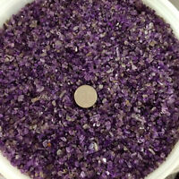 50g Natural Mini Amethyst Purple Point Quartz Crystal Stone Rock Chips Healing