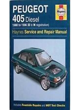 Peugeot 405 Diesel Service and Repair Manual (Haynes Service and Repair Manual,